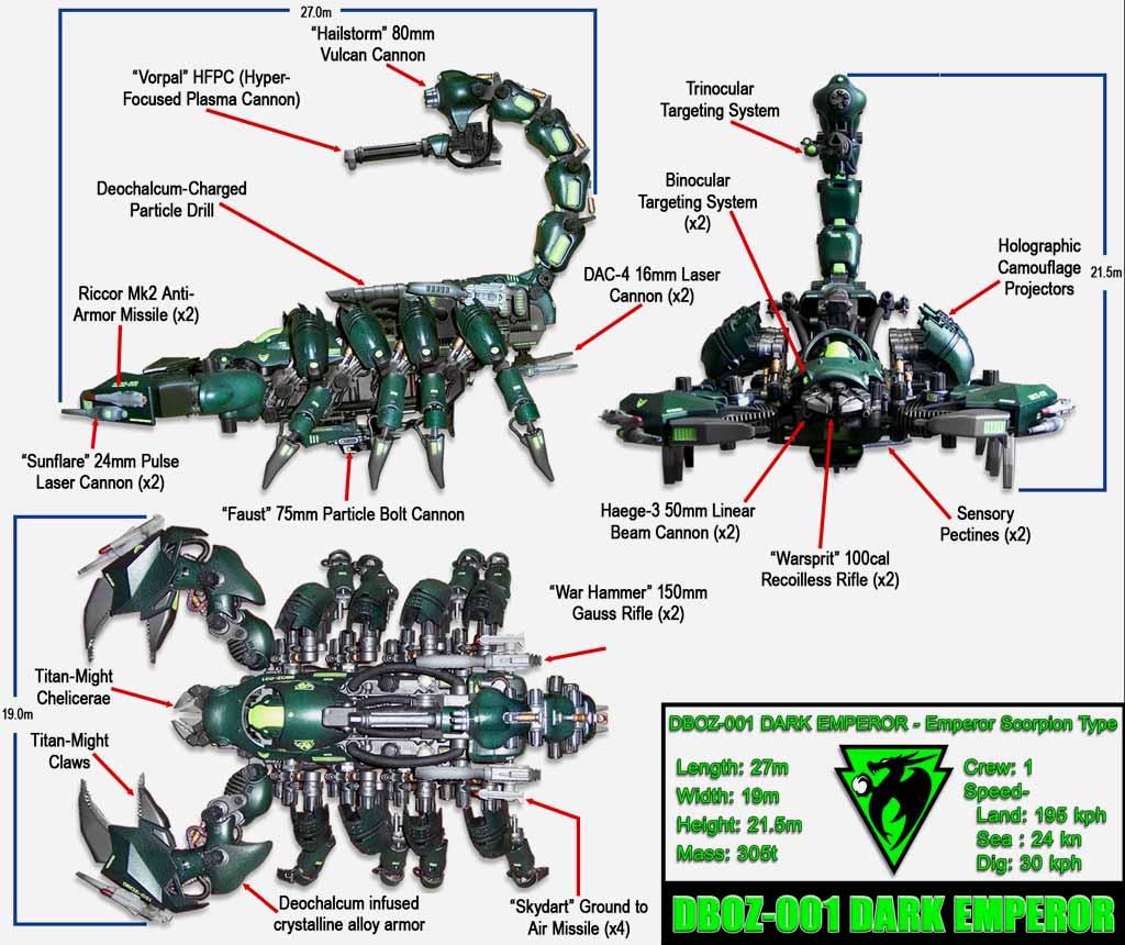DBOZ-001 Dark Emperor